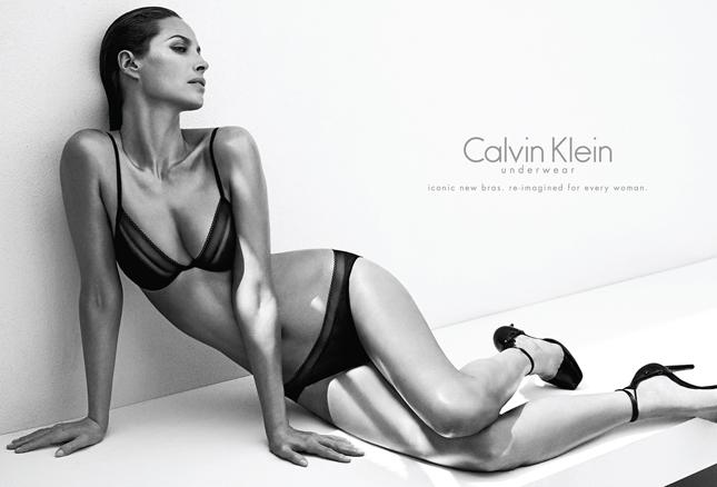 Christy Turlington Burns per Calvin Klein Underwear