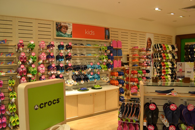 Boutique Crocs a Roma