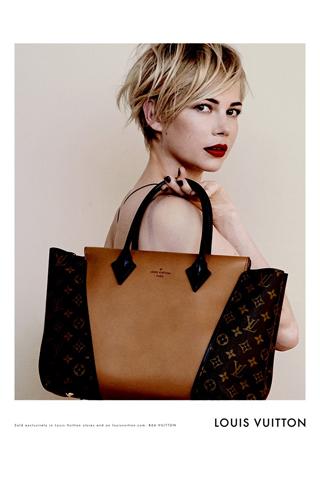 Michelle Williams per Louis Vuitton