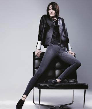 J Brand presenta il jeans effetto Photoshop