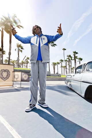 Snoop Lion per adidas Originals Hard Court Defender