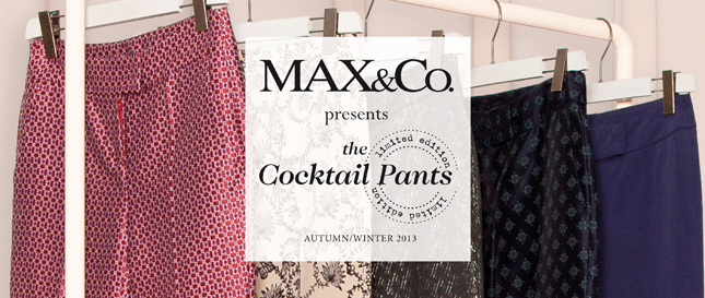 max&co. cocktail pants