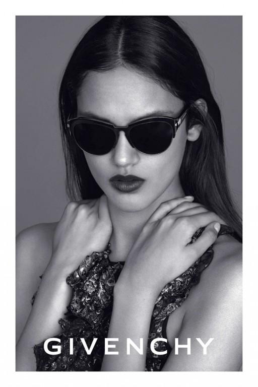 Eyewear campaign sun 2014 givenchy by riccardo tisci for Pubblicita occhiali da sole