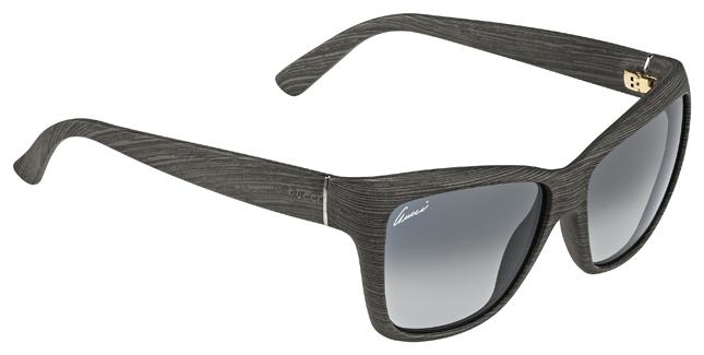 occhiali gucci in liquid wood
