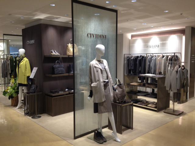 Boutique Cividini a Ginza