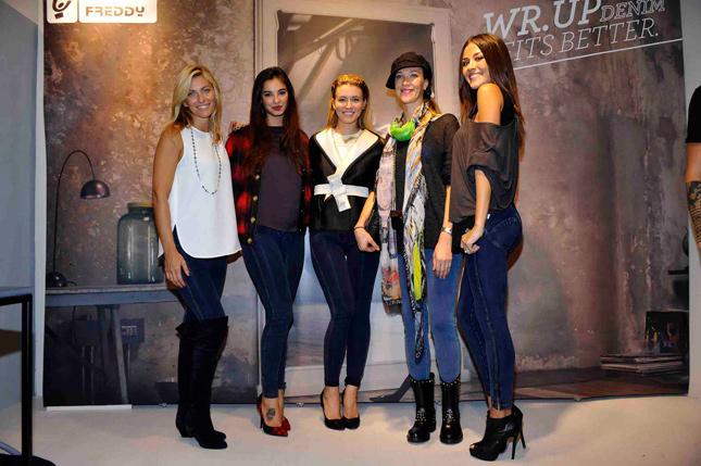 Federica Fontana, Francesca Chillemi, Elena Barolo, Ludmilla Radchenko e Giorgia Palmas