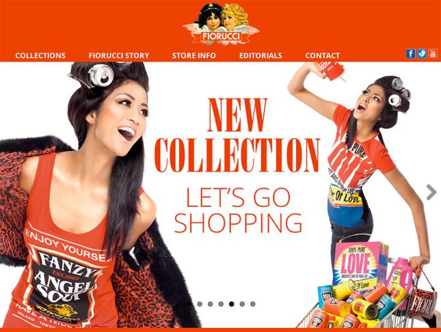 Fiorucci sul web: home page del nuovo sito internet