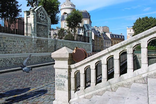 Cartoline di Viaggio by Micol Sabbadini - Montmartre, Paris
