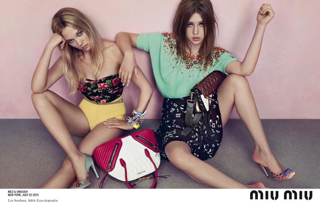 Miu Miu advertising campaign