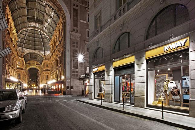 K-Way apre il suo primo negozio a Milano  Fashion Times