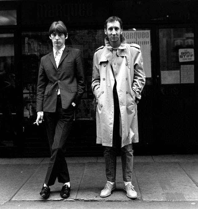 Pete Townshend and Paul Weller