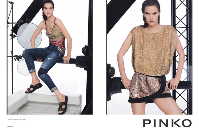 Alessandra Ambrosio for Pinko