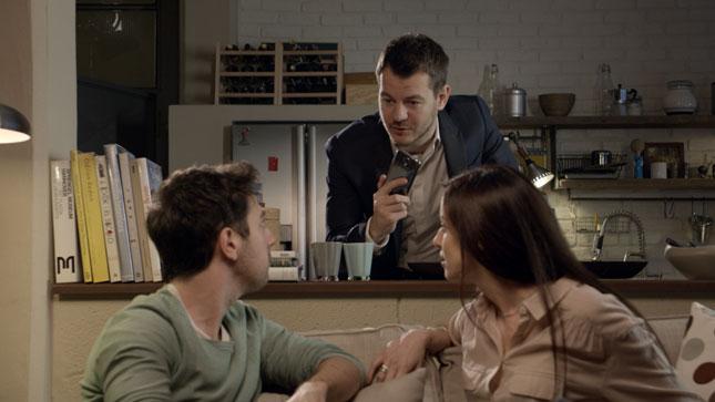 Alessandro Cattelan protagonista della campagna Samsung per il Galaxy S4