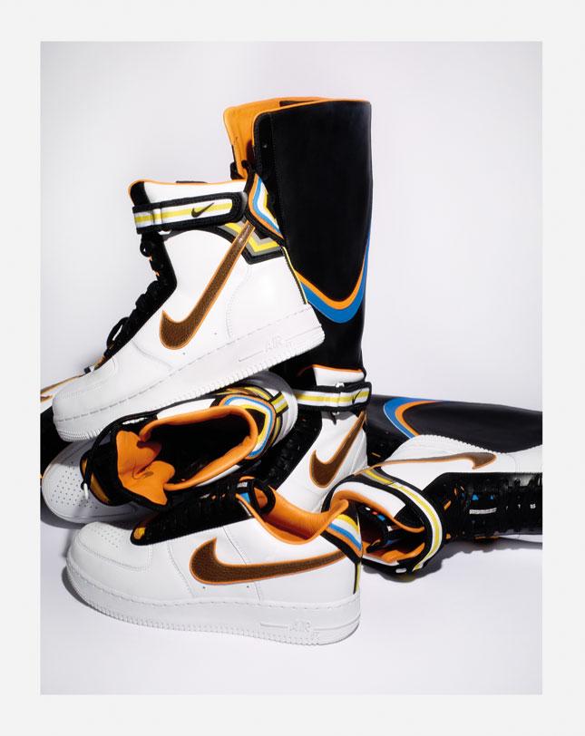 Nike + R-T. Air Force 1