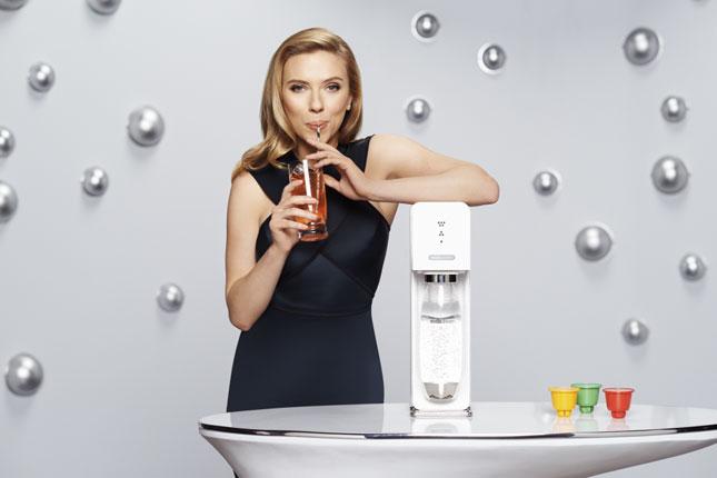 Scarlett Johansson per SodaStream