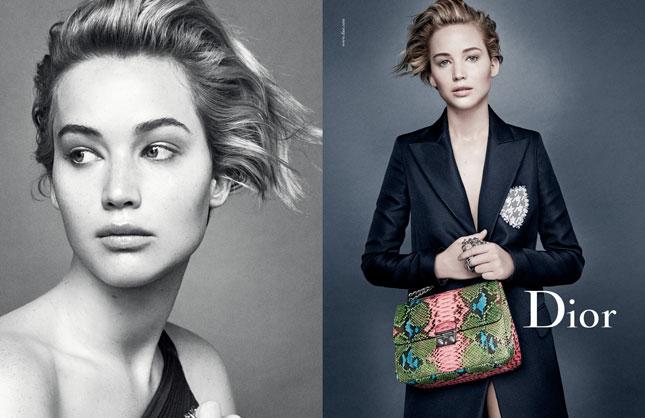 Jennifer Lawrence per Miss Dior (ph. Patrick Demarchelier)