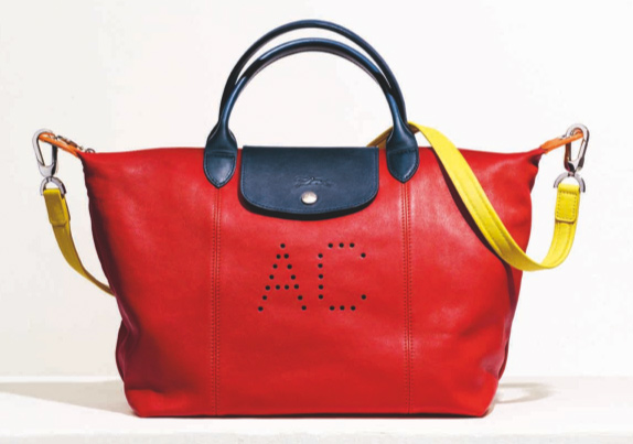 Le Pliage® Cuir Personnalisé, Longchamp