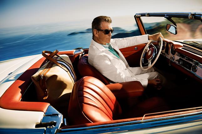 Pierce Brosnan per Hackett London   Spring-Summer 2014
