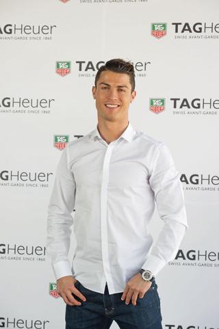 Cristiano Ronaldo per TAG Heuer