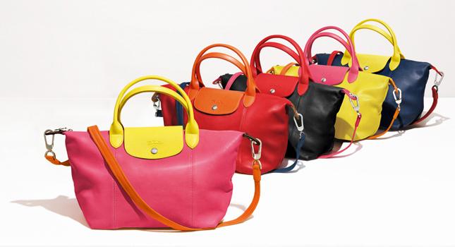 Longchamp presenta Le Pliage® Cuir Personnalisé