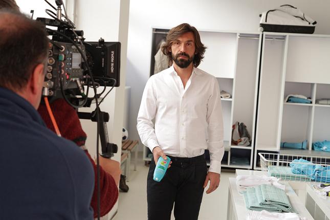 Andrea Pirlo per Garnier Fructis