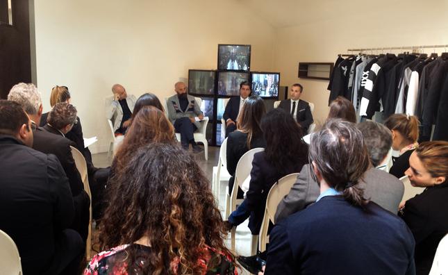 Conferenza stampa di presentazione della Frankie Morello Trademark Srl