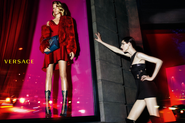 Versace Autunno-Inverno 2014/15 | Campagna pubblicitaria
