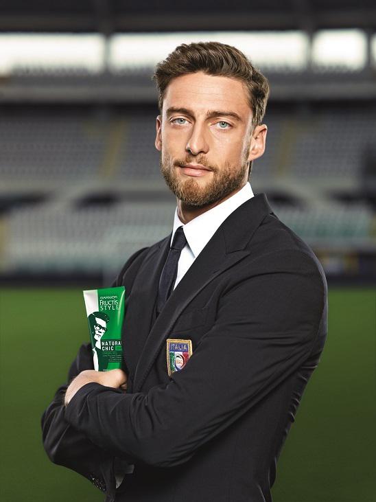 Claudio Marchisio per Garnier Fructis Style