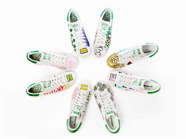 adidas Stan Smith by Pharrell Williams in esclusiva da Colette
