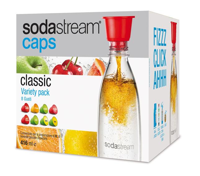 Sodastream Caps