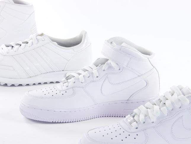 foot locker white collection sneaker