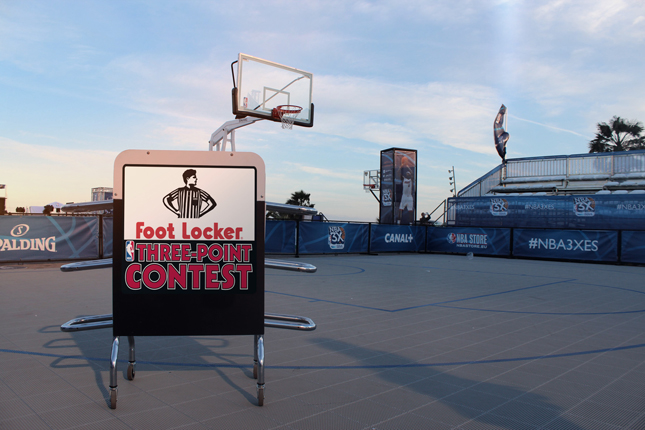 Foot locker sfida gli appassionati di basket con - Foot locker porta di roma ...
