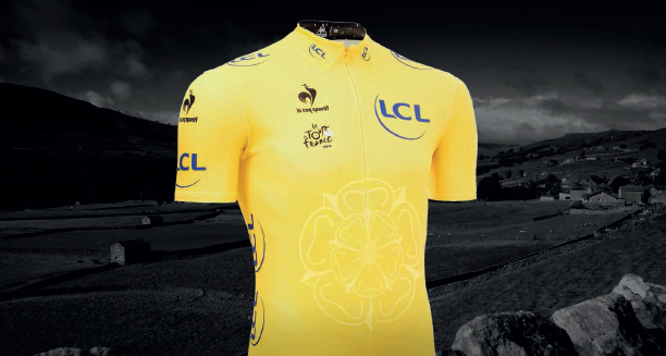 le coq sportif presenta la maglia gialla del Tour de France