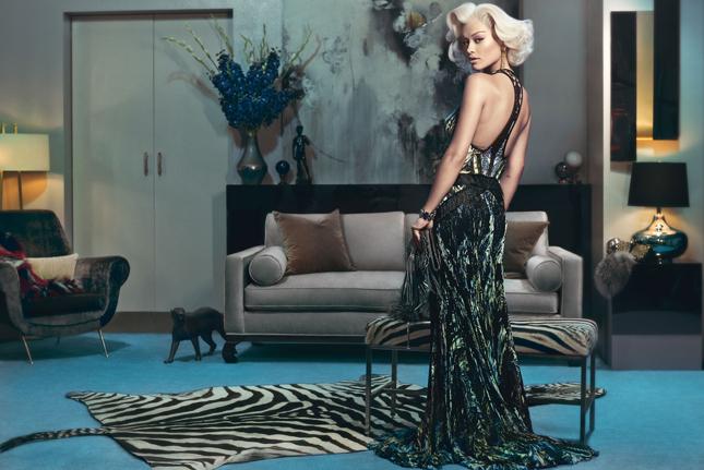 Rita Ora per Roberto Cavalli