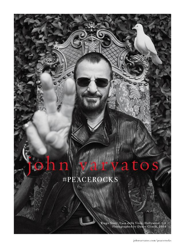 Ringo Starr per John Varvatos   Campagna Fall-Winter 2014/15