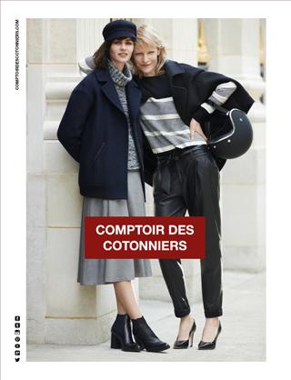 Kirsten Owen e Marta Dyks per Comptoir des Cotonniers