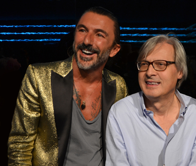 Yuri Scarpellini, Fondatore di Happiness insieme a Vittorio Sgarbi