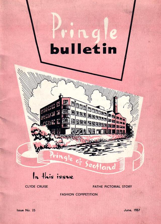 Bulletin, Pringle of Scotland