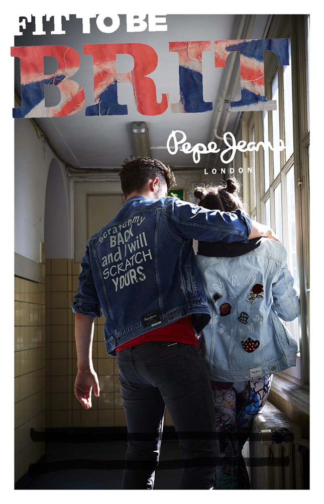Fit to be Brit, Pepe Jeans London