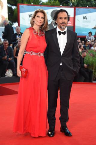 Alejandro González Iñárritu e la moglie Maria Eladia Hagerman