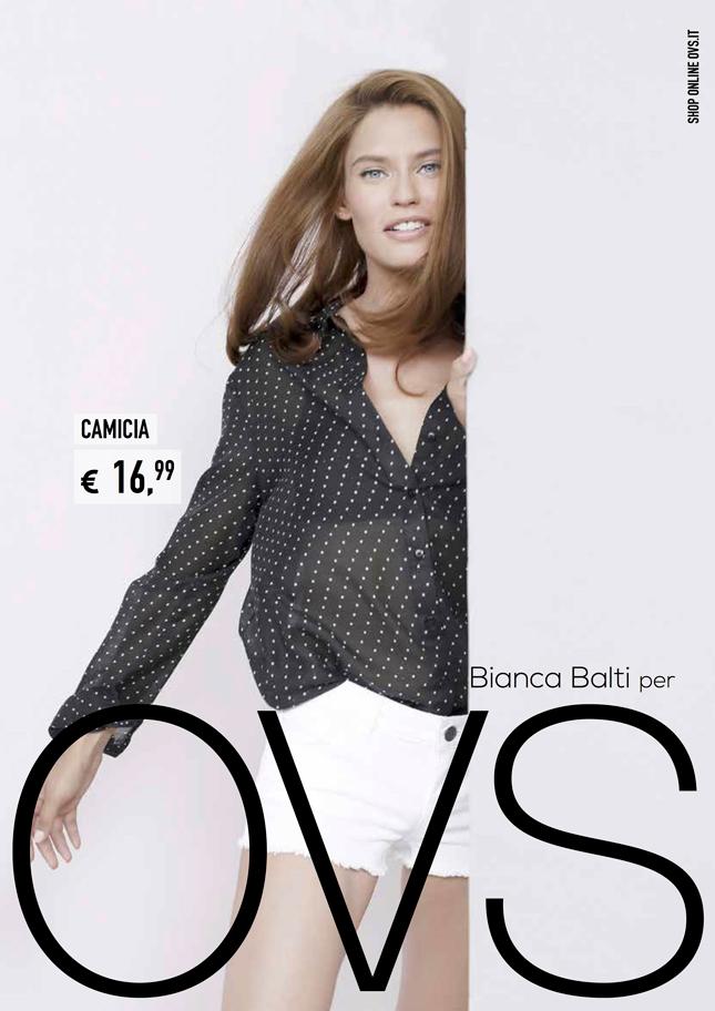Bianca Balti per OVS | Campagna pubblicitaria Autunno-Inverno 2014/15