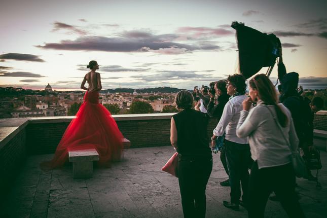 Bianca Balti per Alessandro Angelozzi Haute Couture
