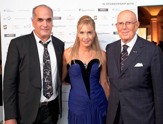 Roberto Chinello, Tatiana Souchtcheva e Cav. Lav. Mario Boselli (CNMI)