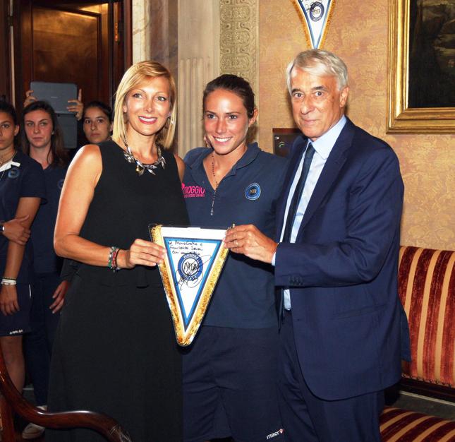 Francesca Severi, Regina Baresi e Giuliano Pisapia, Sindaco di Milano