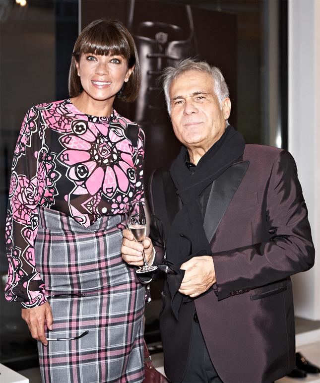 Ana Laura Ribas e Carlo Pignatelli