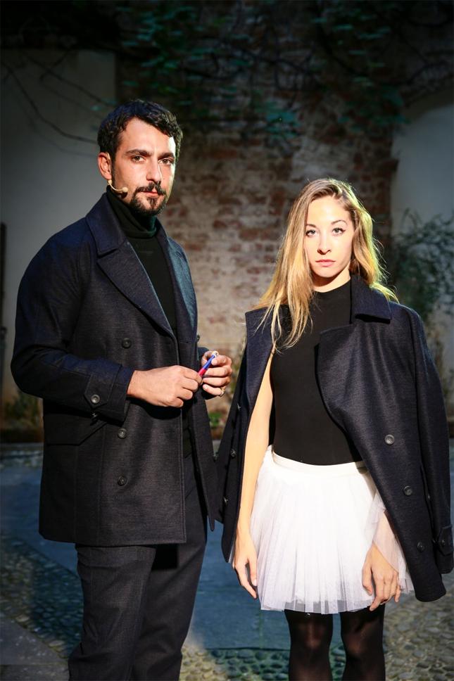 Stefano Ferrero e Tamara Fragale