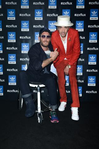 Lapo Elkann e DJ Cassidy