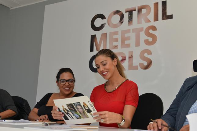 Belen Rodriguez nella giuria del casting Cotril