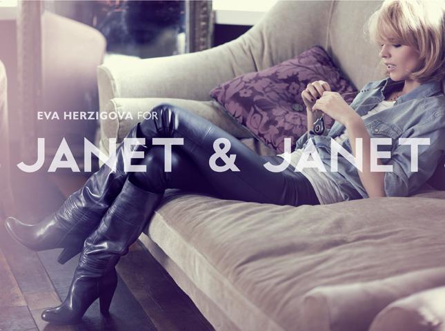 Eva Herzigova per Janet & Janet   Fall-Winter 2009/2010