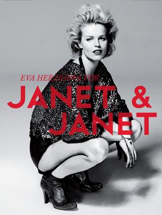 Eva Herzigova per Janet & Janet   Fall-Winter 2010-2011